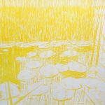 <b>Après Atget Nénuphars. Un</b>  |  pastel on paper  |  122 x 122cm