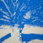 <b>Après Atget Parc de Saint-Cloud. Quatre</b>  |  pastel on paper  |  122 x 153cm