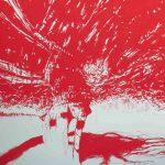 <b>Après Atget Parc de Saint-Cloud. Six</b>  |  pastel on paper  |  122 x 153cm