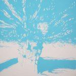 <b>Après Atget Parc de Saint-Cloud. Trois</b>  |  pastel on paper  |  122 x 153cm