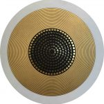 <b>Aurum 3</b>  |  mixed media  |  120cm diameter