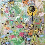 <b>End of Summer 1</b>  |  acrylic on dibond  |  150 x 61cm     <font color=&quot;#CC0000&quot;>sold</font>