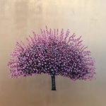 <b>Cherry Blossom</b>  |  oil &amp; gold leaf on board  |  110 x 110cm     <font color=&quot;#CC0000&quot;>sold</font>