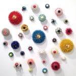<b>Eyes Series Installation</b>     ceramics