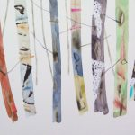 <b>Forest Clearing II</b>  |  watercolour &amp; oil on paper  |  24 x 30cm     <font color=&quot;#CC0000&quot;>sold</font>