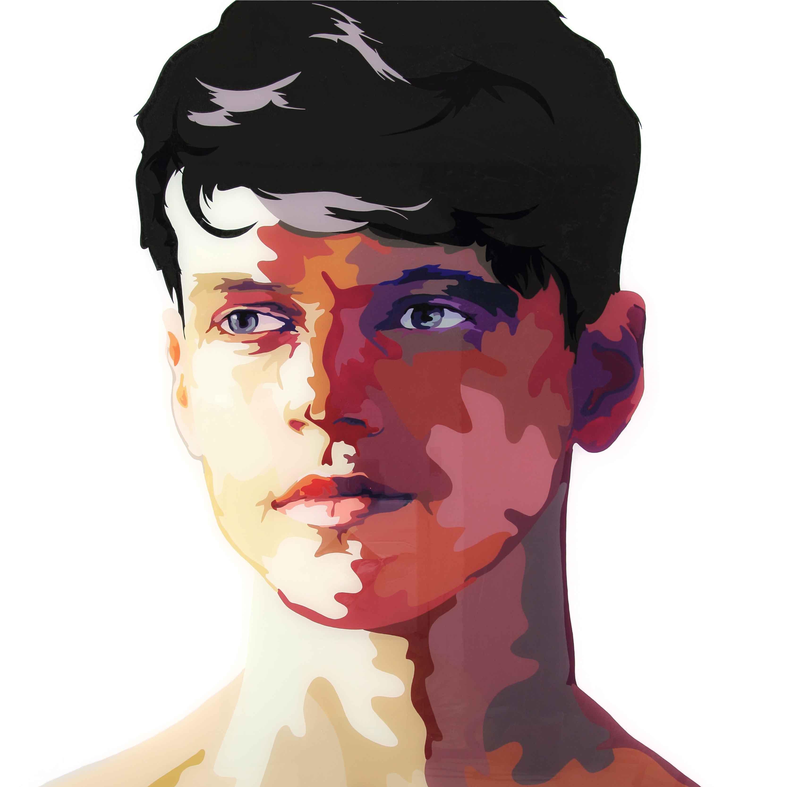 John Doe I, 120x150cm