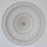 <b>Large Portal</b>     laser cut paper     81 x 79 x 12cm <font color=&quot;#CC0000&quot;>sold</font>