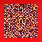 <b>Mosaic Wave</b>  |  mixed media  |  103 x 103