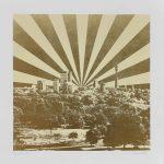 <b>Primrose</b>  |  screen print with 24ct gold leaf  |  76 x 76cm