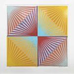 <b>Chatterbox 33</b>  |  woodblock monoprint on paper  |  86.5 x 89cm