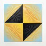 <b>Chatterbox 36</b>  |  woodblock monoprint on paper  |  86.5 x 89cm
