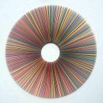 <b>Colour Radiation</b>  |  mixed media  |  120 x 120cm