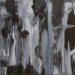 <b>Franton Blue</b>  |  oil on dibond  |  106 x 106cm