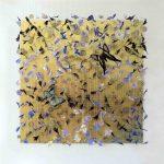 <b>Little Dreams XIV</b>  |  wildflower petals, vintage butterflies &amp; watch parts  |  31 x 31cm