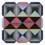 <b>Shibboleth #6</b>  |  woodblock monoprint on paper  |  127 x 127cm
