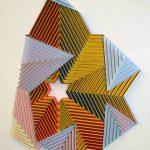 <b>Star Fold</b>  |  mixed media  |  74 x 66cm <font color=&quot;#CC0000&quot;>sold</font>