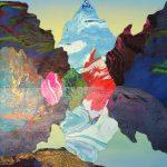 <b>Horizon&#39;s Verge</b>  |  mixed media  |  45 x 38cm <font color=&quot;#CC0000&quot;>sold</font>