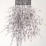 <b>Escape</b>  |  ink on Japanese Kozo paper  |  57.5 x 57.5cm