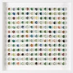 <b>Found Marbles IV</b>  |  mixed media  |  59 x 59cm   <br /> <a href=&quot;https://www.cube-gallery.co.uk/mat-kemp-found-marbles-iv/&quot;><font color=&quot;#bcbcbc&quot;>Click here to view video &amp; close ups</font></a>