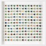 <b>Found Marbles IV</b>  |  mixed media  |  59 x 59cm