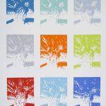 <b>Apres Atget Parc de Saint-Cloud Multiples. Sept</b>  |  pastel on paper  |  97 x 121cm