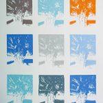 <b>Apres Atget Parc de Saint-Cloud Multiples. Six</b>  |  pastel on paper  |  97 x 121cm