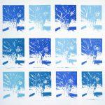 <b>Apres Atget Parc de Saint-Cloud Multiples. Trois</b>  |  pastel on paper  |  120 x 125cm