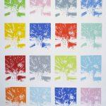 <b>Apres Atget Parc de Saint-Cloud Multiples. Quatre</b>  |  pastel on paper  |  153 x 122cm
