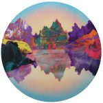 <b>Biophillia</b>  |  acrylic &amp; resin on board  |  120cm diameter    <br /> <a href=&quot;https://www.cube-gallery.co.uk/kate-shaw-biophilia/&quot;><font color=&quot;#bcbcbc&quot;>Click here for close up images</font></a>