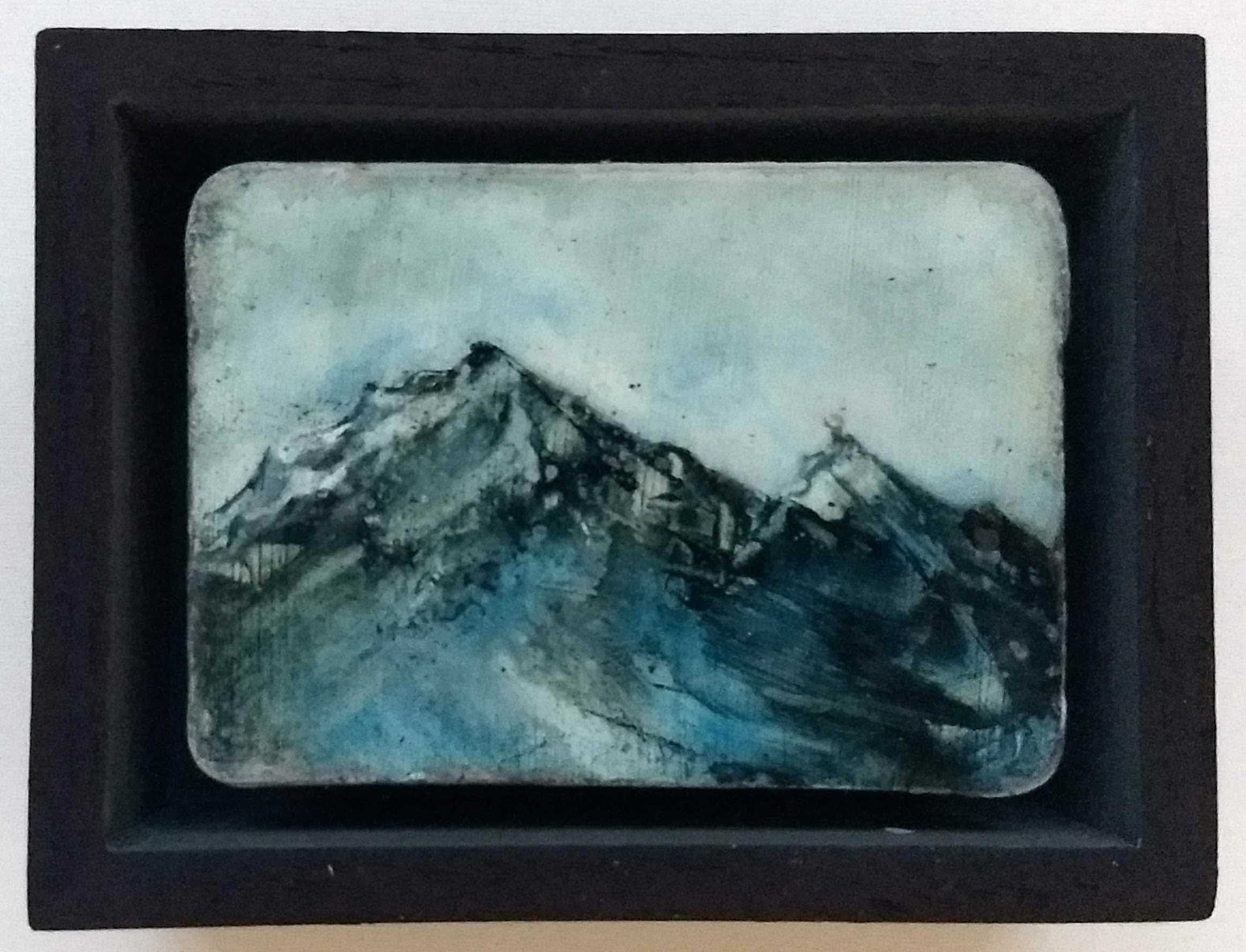 Ice Peaks, 12x9cm