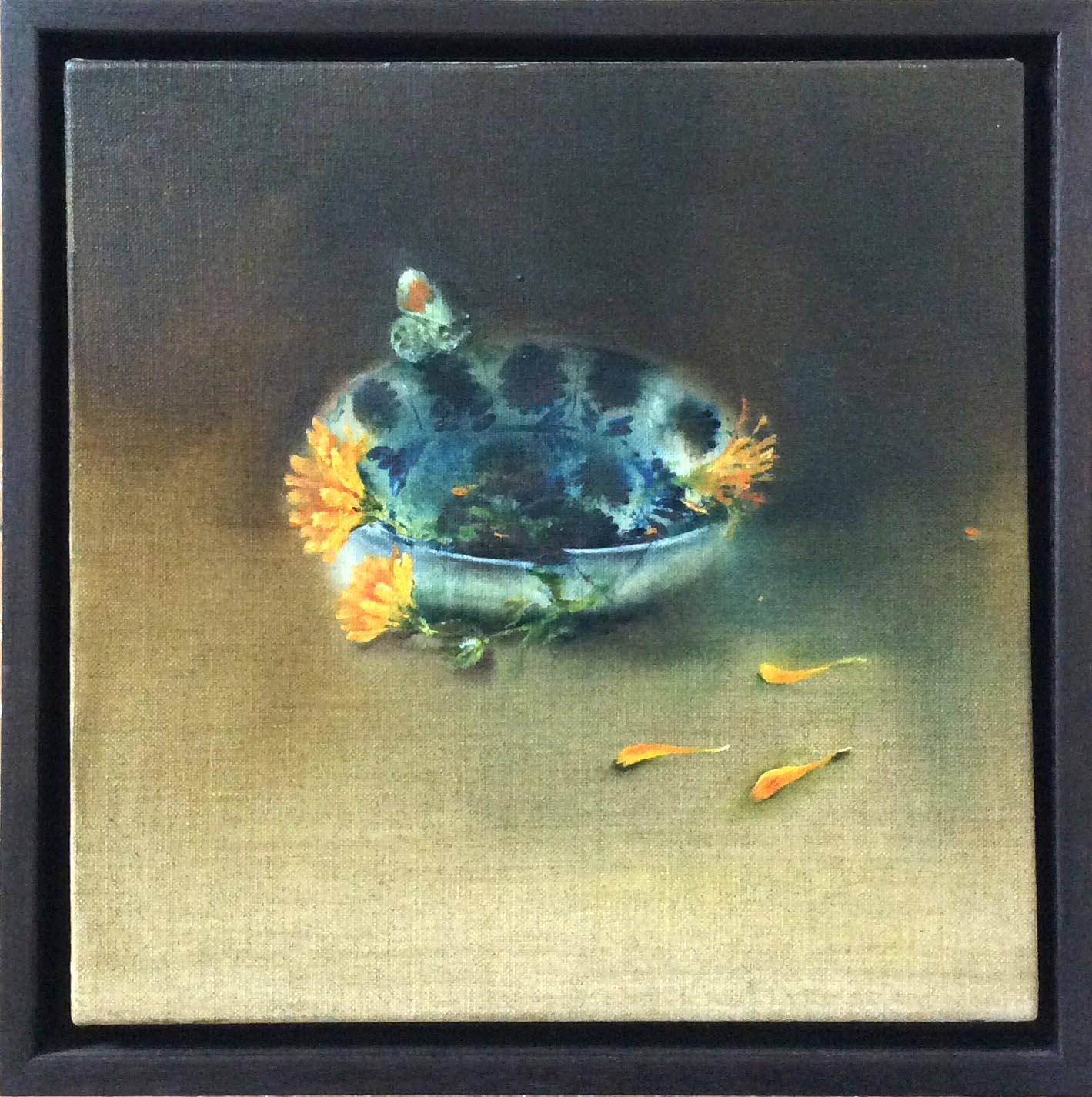 Linda Felcey Orange Tip, 28.5x29cm, Linda Felcey