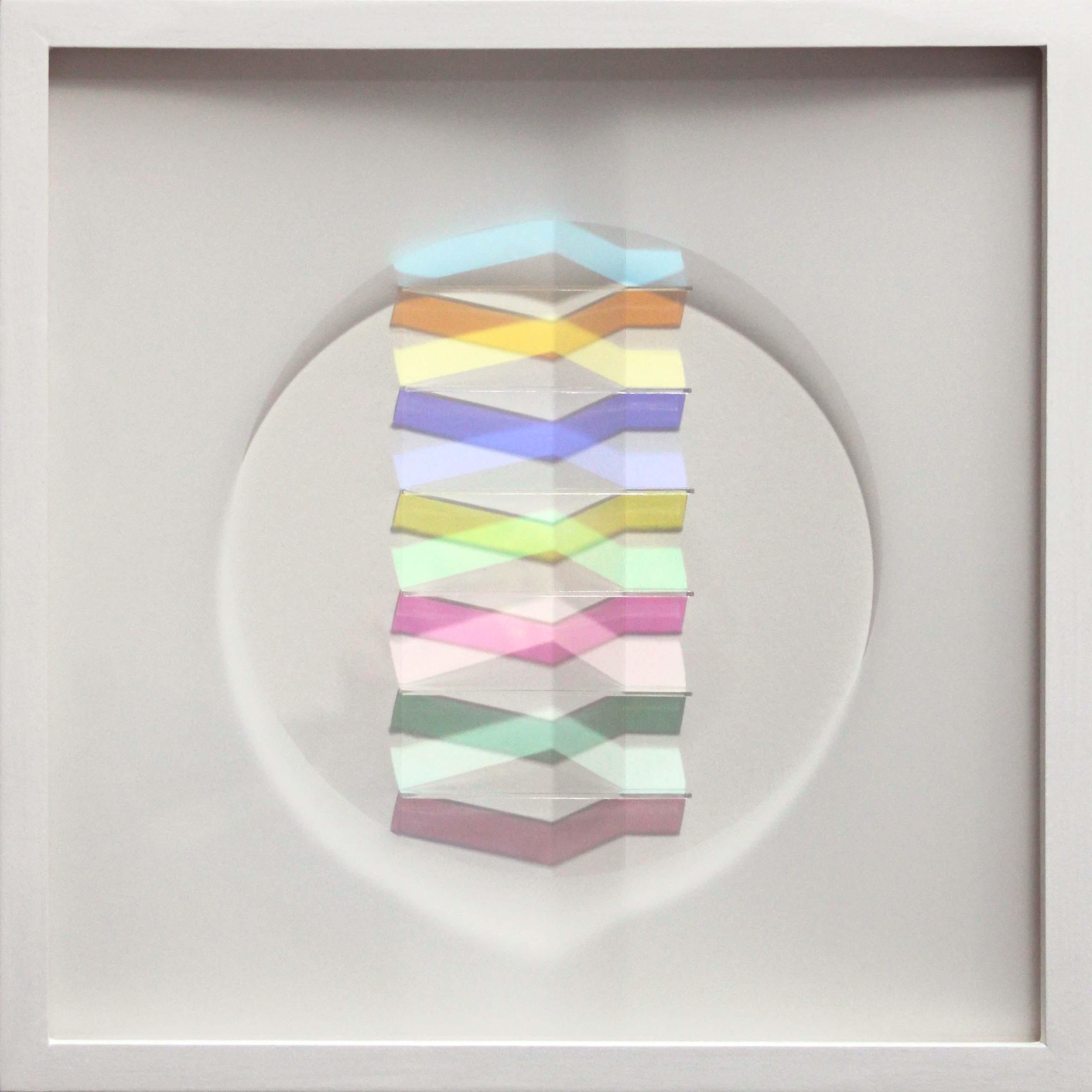 Linear Fold XVII, 29x29cm