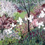 <b>Blessings</b>  |  acrylic on disband  |  100 x 75cm