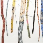 <b>Winter Woodland</b>  |  watercolour, watercolour pastel &amp; oil  |  47 x 37cm
